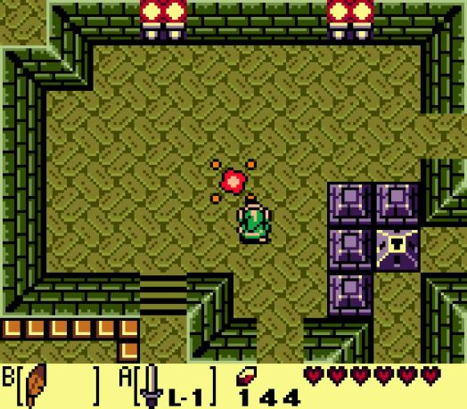 Step Five On the return trip, go into the Dodongo Snakes' lair and use the teleporter to return to the dungeon entrance.