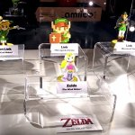 Check out the details on these Zelda 30th Anniversary Amiibo