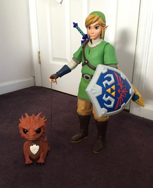 Link Figure with Smaug