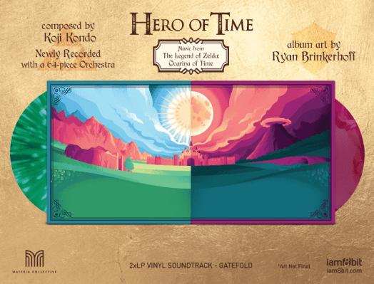 hero of time vinyl album fold