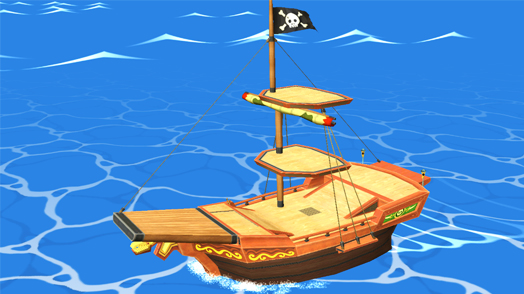 The Pirate Ship Smash Bros