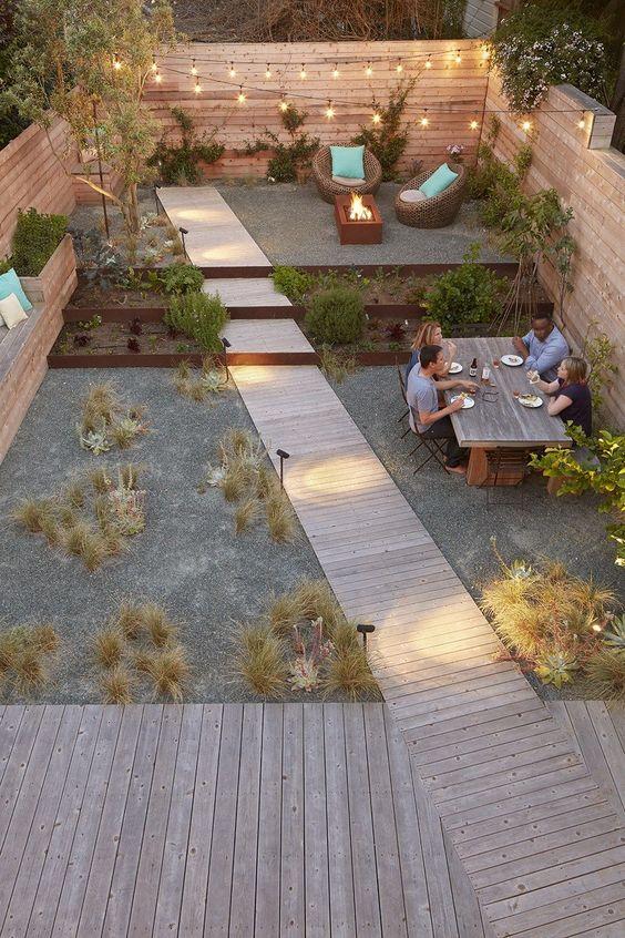 ландшафтний дизайн подвір'я фото