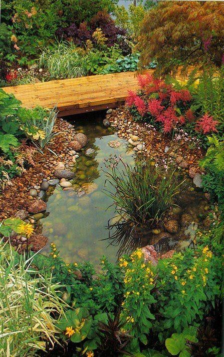 Оформити оригінальну водойму на ділянці набагато простіше, ніж ви думаєте