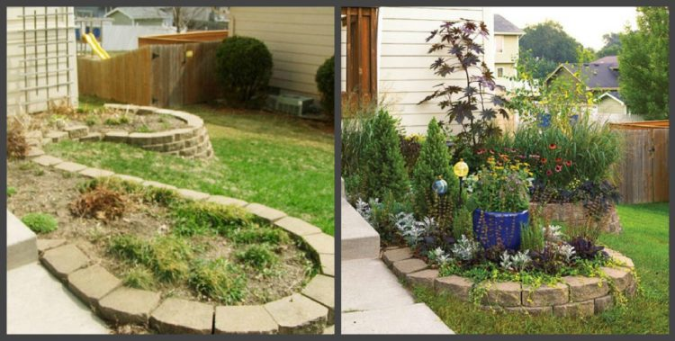 Ландшафтний дизайн подвір'я - до і після, фото 10