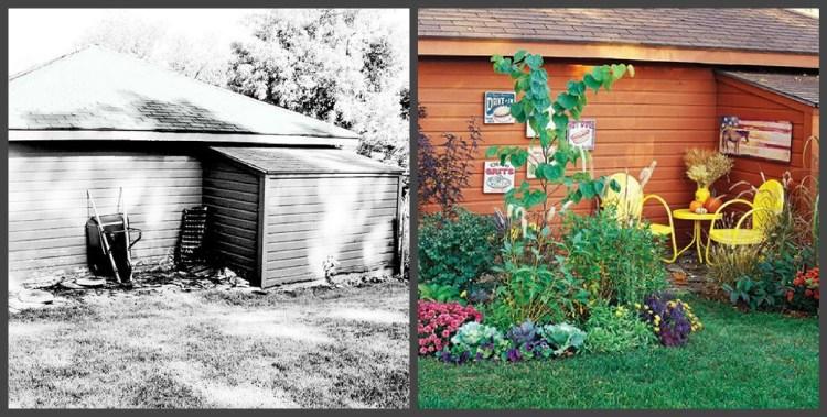 Ландшафтний дизайн подвір'я - до і після, фото 12