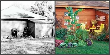 ландшафтний дизайн подвіря картинка 12 до і після
