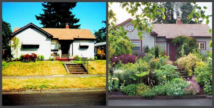Ландшафтний дизайн подвір'я - до і після, фото 15