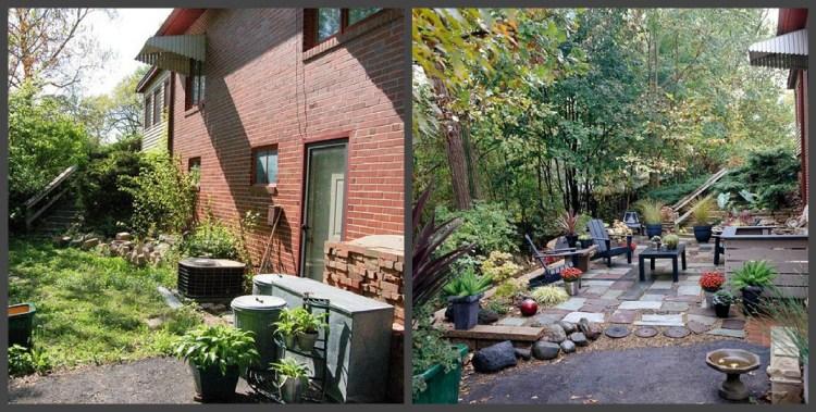 Ландшафтний дизайн подвір'я - до і після, фото 6