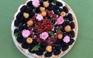 пиріг з ягодами
