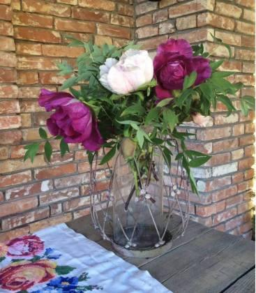 троянди у вазі