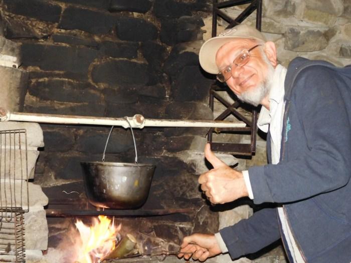 Віктор Ганущин - мандріник, садівник, фотограф і... кухар