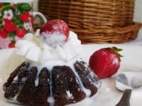 Шоколадний фондан - ресторанний десерт за 15 хвилин