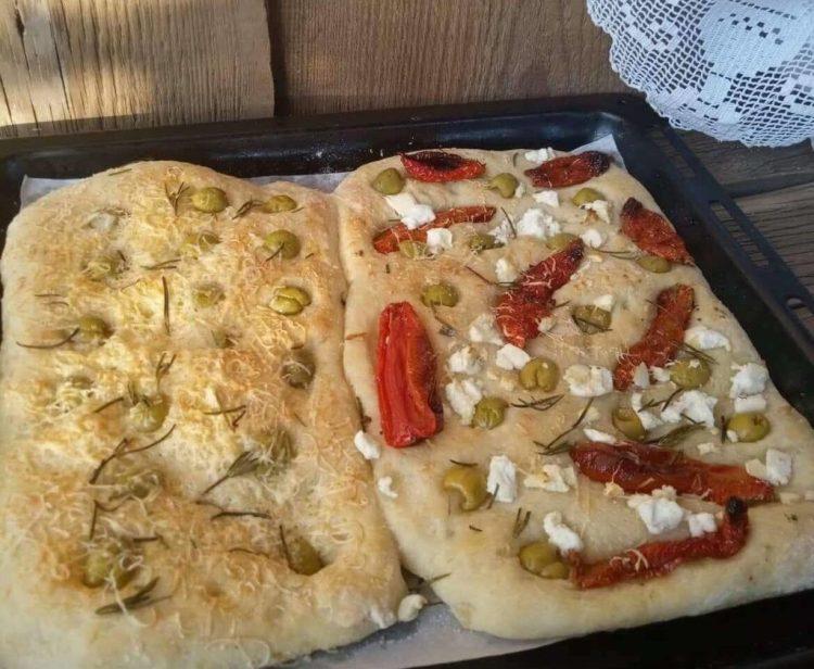 Фокача з картопляного тіста замість хліба