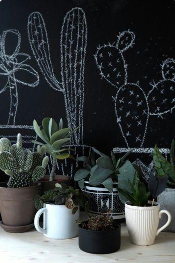 Посуд, замість горщиків для кімнатних рослин
