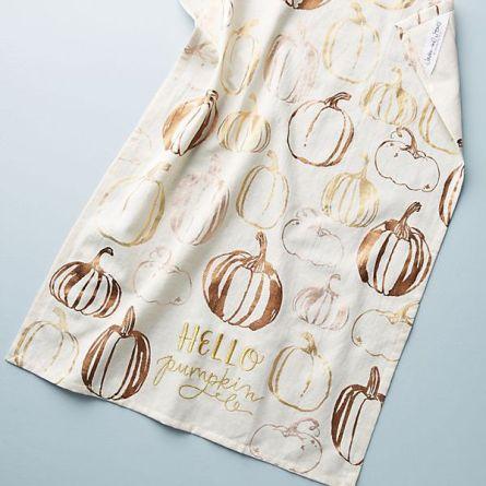 Кухонні рушники з гарбузами