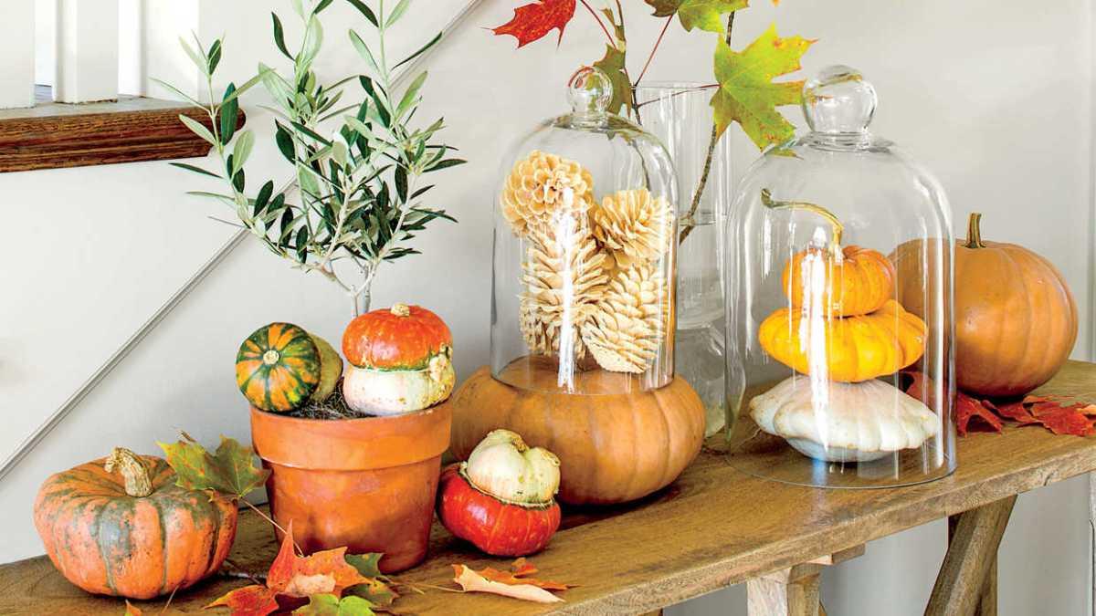 50 ідей гарбузового декору в інтер'єрі