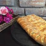 Закритий пиріг з капустою і грибами — кулеб'яка