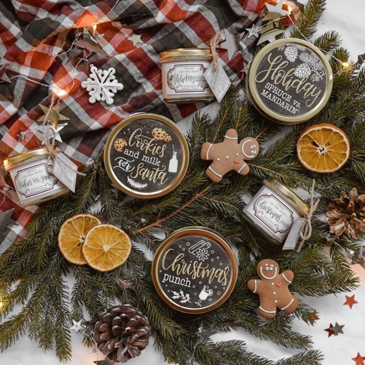 Різдвяна серія свічок Просто Миколка
