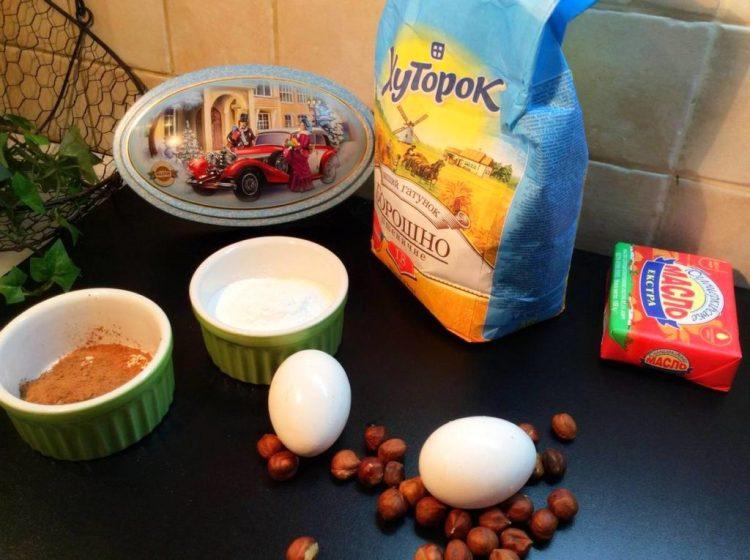 Інгредієнти для печива «Трюфель»