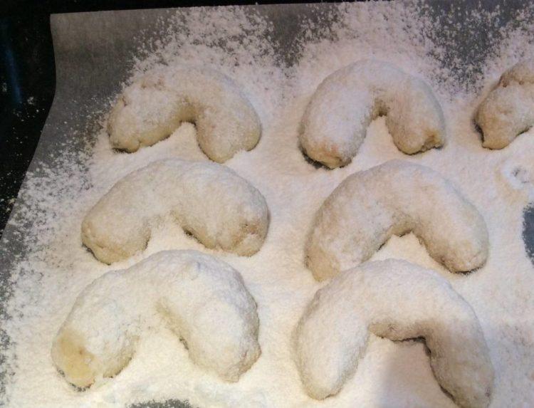 Віденське ванільне печиво готове! Зберігаємойого у щільно закритій коробці