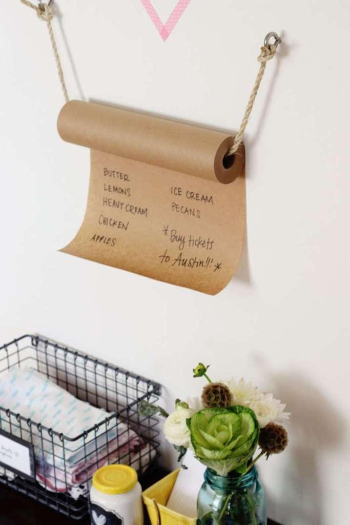 Органайзер для нотатків з мотузки