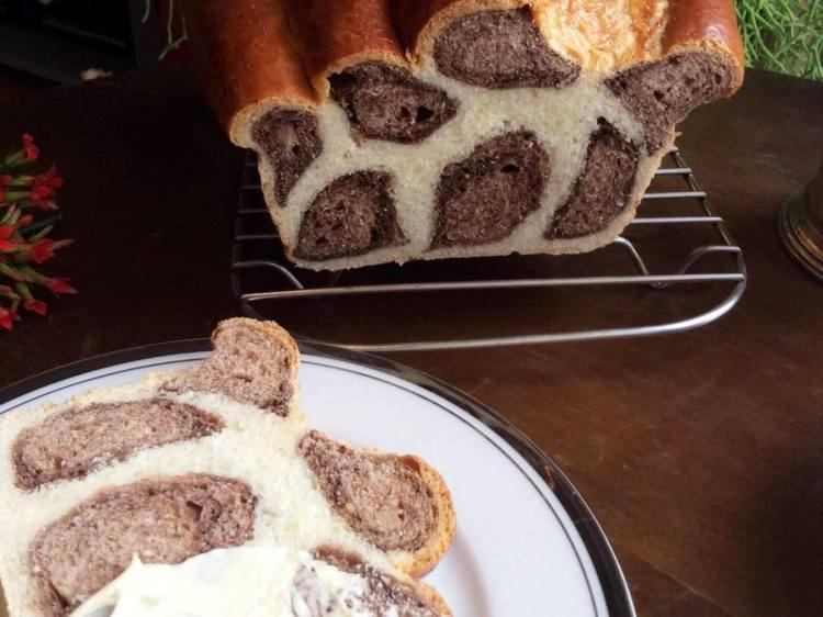 Леопардовий хліб готовий. Смачного!