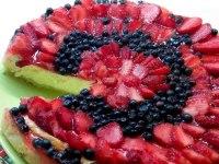 Чізкейк з полуницею в духовці — простий і ідеальний