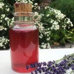 Сироп з лаванди — аромат літа