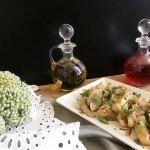Смачна закуска з білих баклажанів