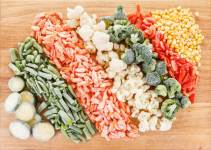 Як правильно заморозити овочі на зиму