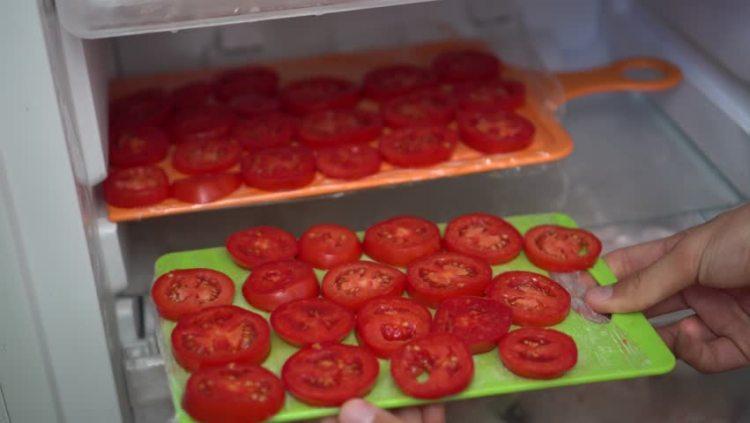 Як правильно заморозити помідори кільцями