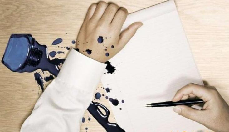 Як вивести плями від кулькової ручки на одязі