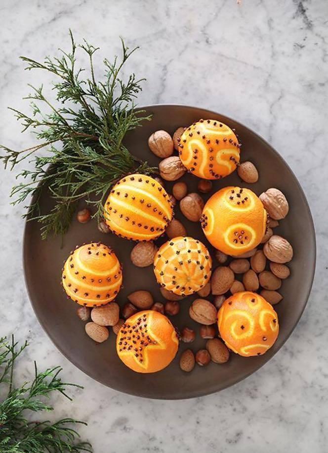 Помандери - це новорічні прикраси і для столу, і для ялинки, і для інтер'єру...