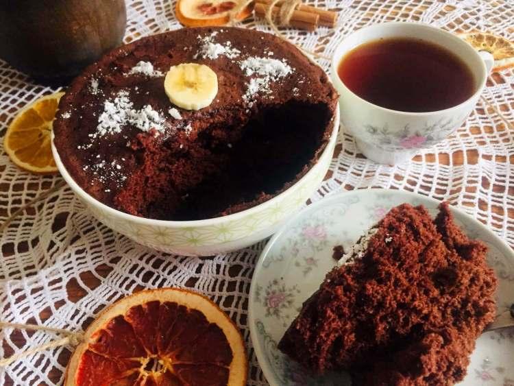 Шоколадний десерт у мікрохвильовці за 5 хвилин готовий!