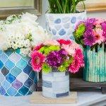Ефектна ваза своїми руками для інтер'єру — 50 ідей з фото
