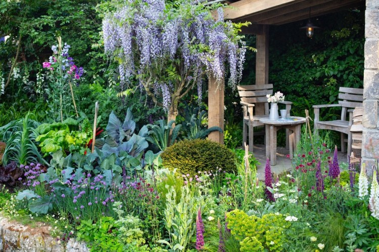Сад десятиліття 2010-2019 років Квіткового шоу Челсі