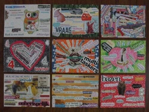 enneagram - ansichtkaarten - ZelfkennisLab - Mini Moodboards