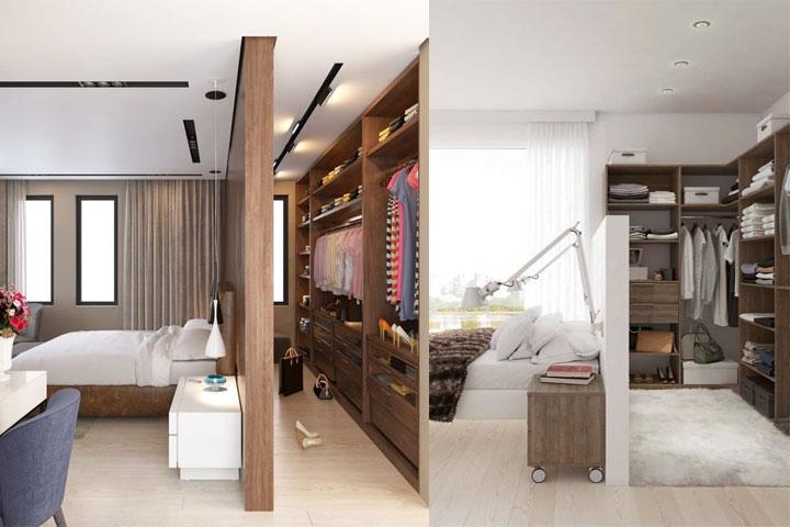 dressing tete de lit 15 id 233 es de dressing pour un petit appartement page 2 des dressings dans des recoins inattendus dressing tete de lit guillaume coudert architecture d des