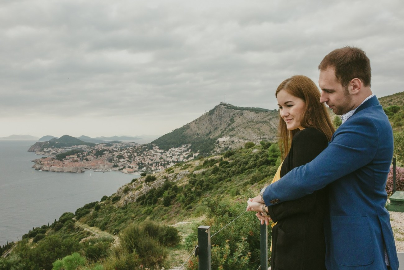park orsula dubrovnik engagement session