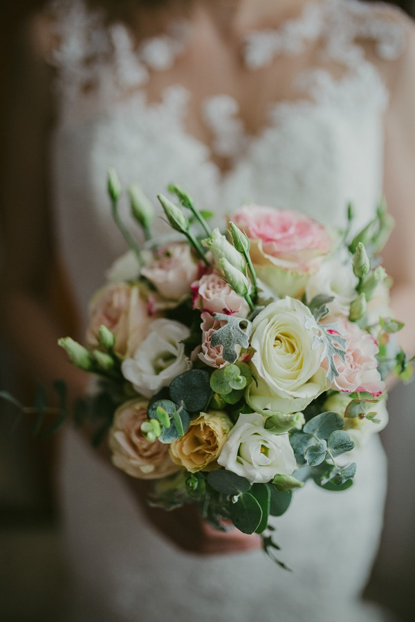 island of kolocep croatia wedding photographer bouquet