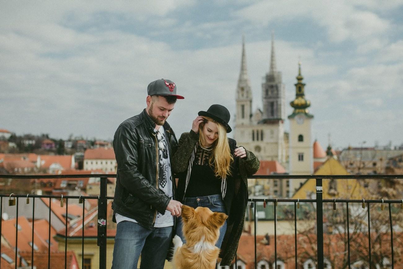 Zagreb Croatia couple session