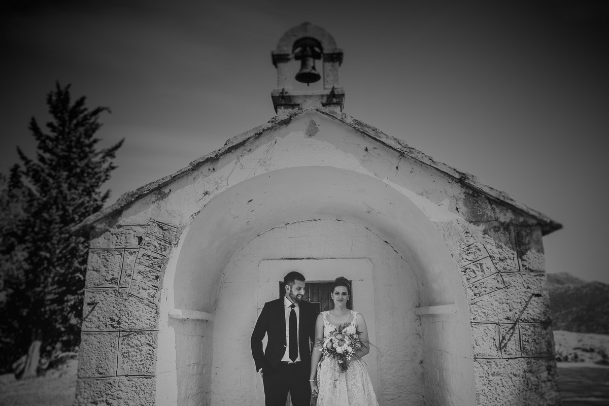first look croatia wedding