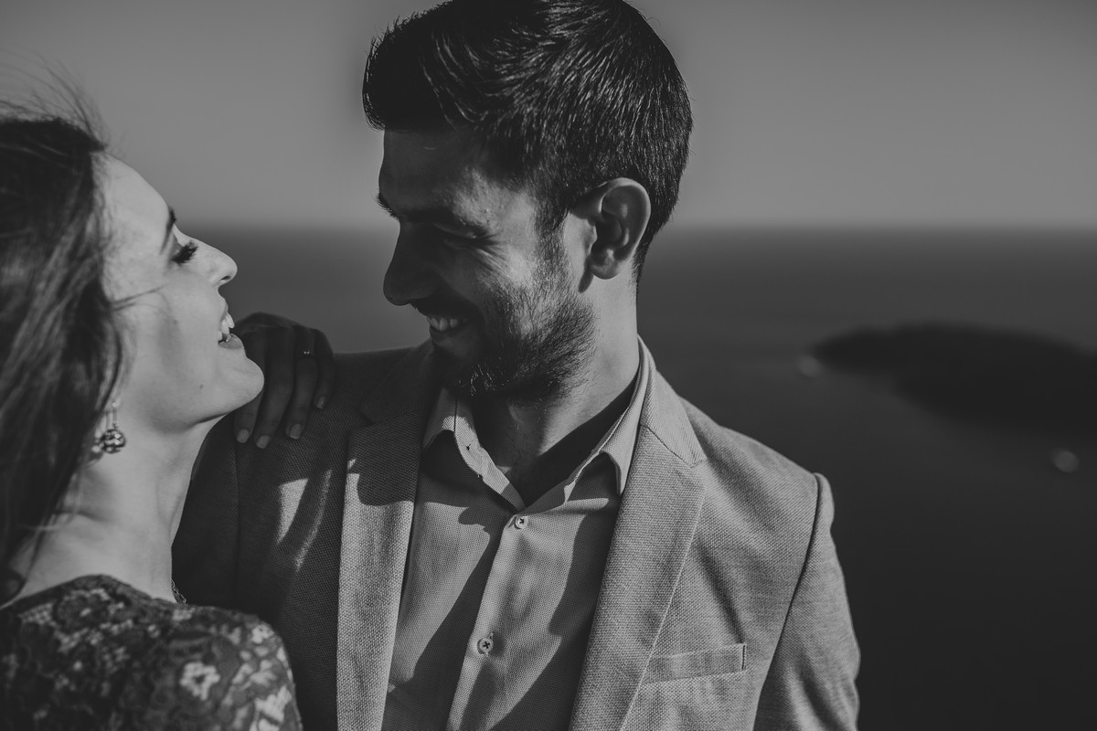 engagement photoshoot on srđ