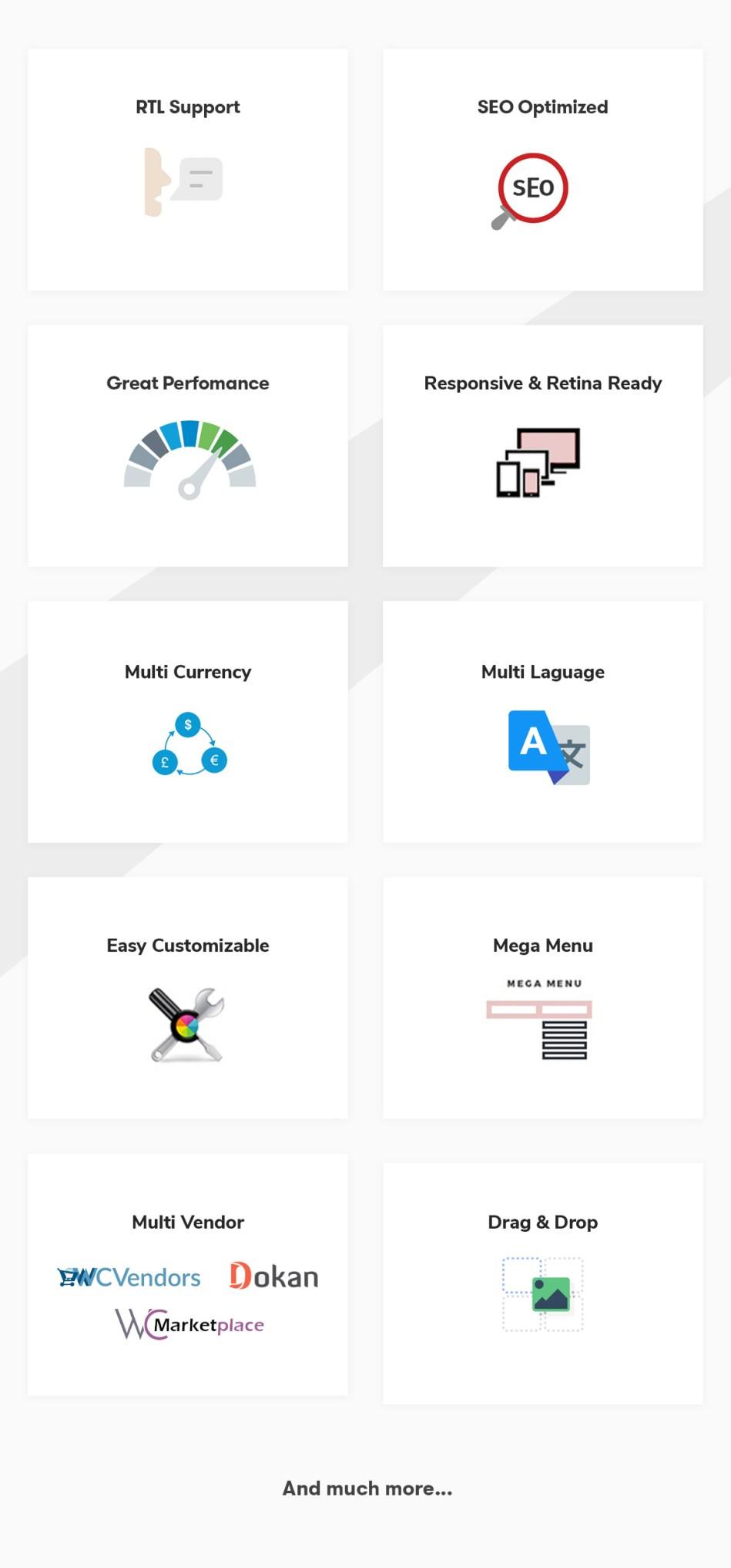 Zella - WooCommerce AJAX WordPress Theme - RTL Support - 16