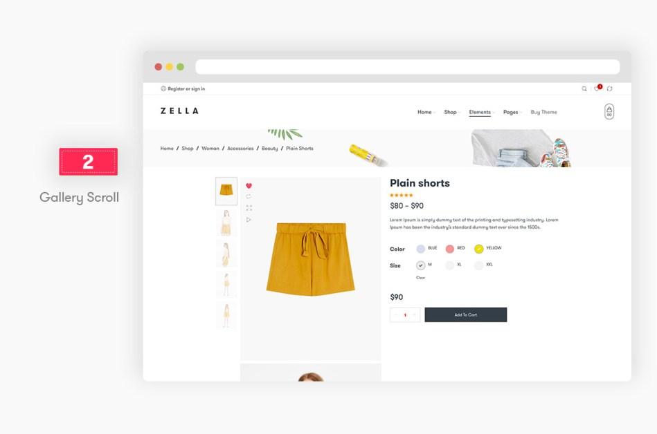 Zella - WooCommerce AJAX WordPress Theme - RTL Support - 8