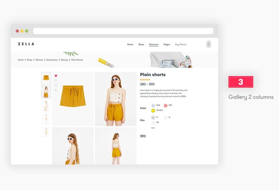 Zella - WooCommerce AJAX WordPress Theme - RTL Support - 9