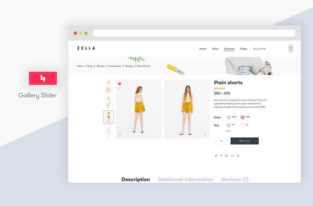 Zella - WooCommerce AJAX WordPress Theme - RTL support - 10