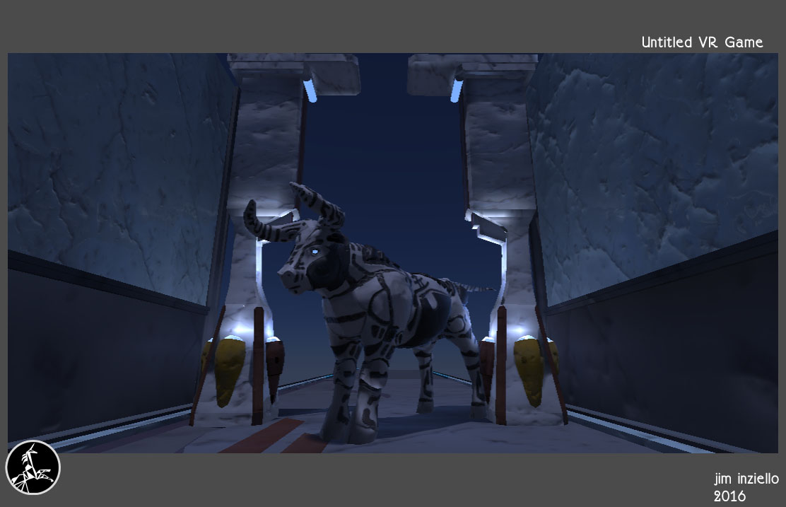 Bull for an as yet Untitled VR Game