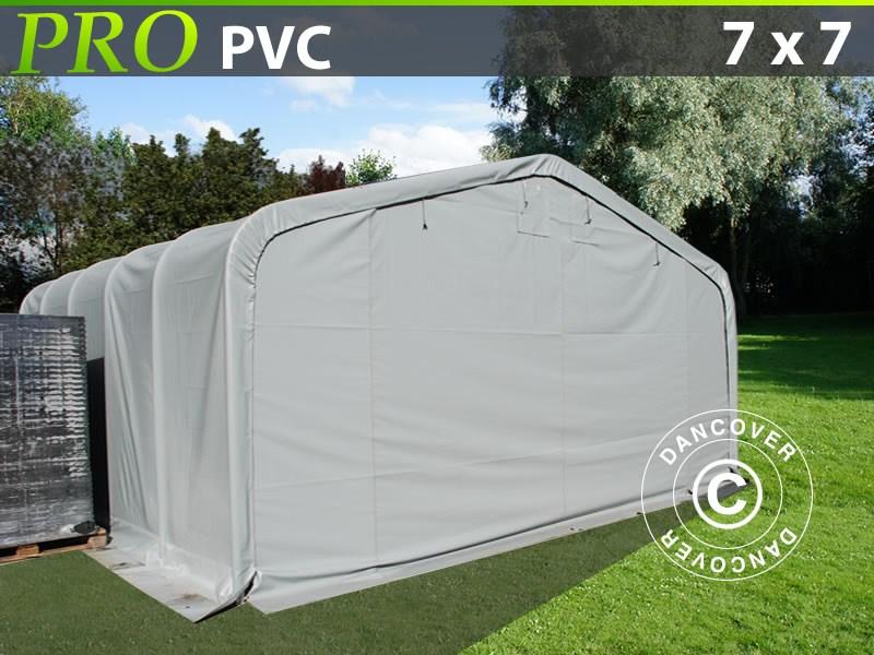 Lagerzelt-PRO-7X7X38-M-PVC