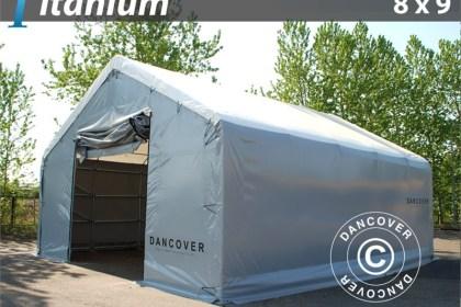 Lagerzelt Titanium 8 x 9 x 3 x 5 m